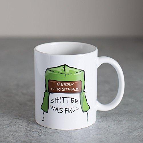 11oz Shitter Was Full Mug | Christmas Vacation]()