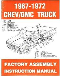 amazon com 1969 pontiac firebird assembly manual rebuild automotive rh amazon com 1971 Firebird 1968 GTO