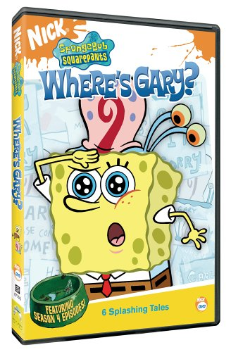 Amazoncom Spongebob Squarepants Wheres Gary Spongebob