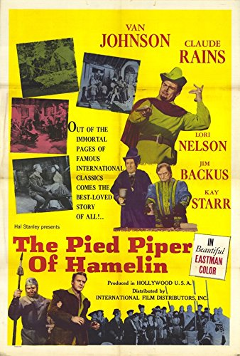 The Pied Piper of Hamelin Poster Movie