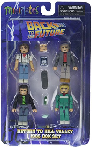 Back to the Future 30th Anniversary Minimates Return to Hill Valley 1985 Mini Figure Box Set