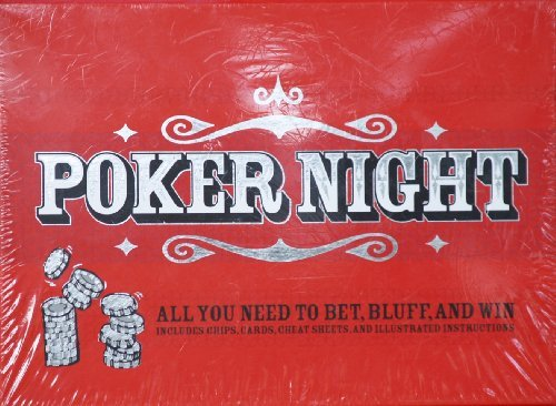 los clientes primero Poker Night  All You Need To Bet, azulff, and and and Win by Chronicle Books  ahorra hasta un 30-50% de descuento