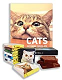 Chocolate gift set''CATS'' Food gifts, present ideas, funny gift for all cat lovers! (Prime 2)