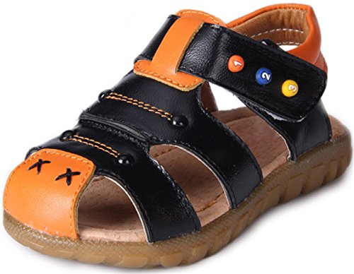 ppxid-boys-girls-closed-toe-outdoor-casual-sandal-black-135-us-size