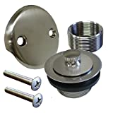Plumbest B51-55BN Lift and Turn Bath Waste Conversion Kit, Brushed Nickel