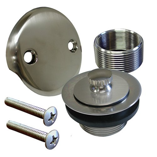 Plumbest B51-55BN Lift and Turn Bath Waste Conversion Kit, Brushed Nickel by Jones Stephens