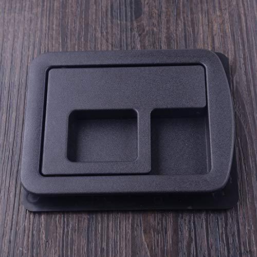 (Fincos beler Black Rear Trunk Liner Cargo Cover Handle Upper Bezel 8E5863627 Fit for Audi A3 A4 S4 A5 S5 A6 S6 A8 2013 2014 2015 2016)