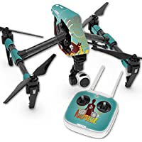 Skin For DJI Inspire 1 Quadcopter Drone – Namaste | MightySkins Protective, Durable, and Unique Vinyl Decal wrap cover | Easy To Apply, Remove, and Change Styles | Made in the USA
