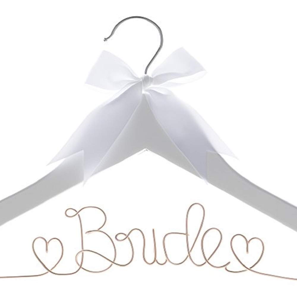 a4674747a KEEP YOUR DRESS WRINKLE-FREE  Prevent your dress from slipping and sliding  with this quality hanger made of wood