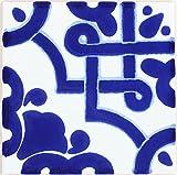Box of 90 - 4¼ x 4¼ Mosaio Azul - Terra Nova Mediterraneo Ceramic Tile