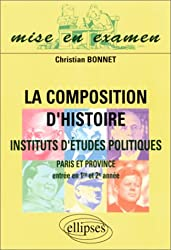 La composition d'histoire à Sciences Po (Paris et province) : Entrée en 1ère et 2e années
