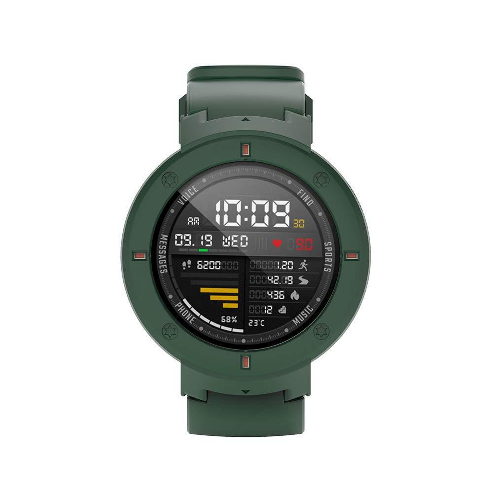 SIKAI Protector Case Funda para Amazfit Verge 3 Smartwatch Moda Slim Colorido Marco Caso Cubierta Proteger Shell para Amazfit Reloj Lightweight PC ...