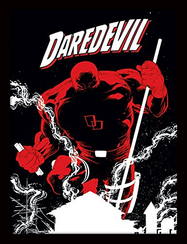 iPosters Marvel Extreme Daredevil Framed 30 x 40 Official Print - Overall Size: 36 x 46 cm (14 x 18 inches) Print Size: 30 x 40 cm