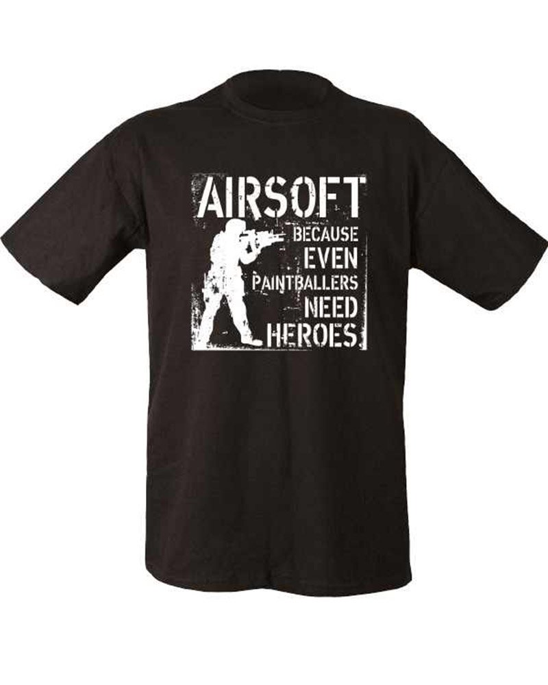 AIRSOFT PAINTBALL SHOOTING T SHIRT MENS GIFT FREE UK POSTAGE