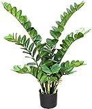 Zamioculcas Verde - Pianta Artificiale Da Arredo Interno - Alta 90 cm