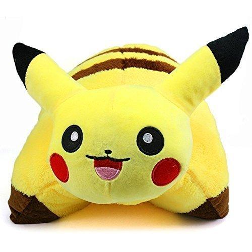 New-Pikachu-Pokemon-Pet-Pillow-Sleep-Cushion-Soft-Plush-42-X-33-Cm-Doll-Pillow-by-Tianxing