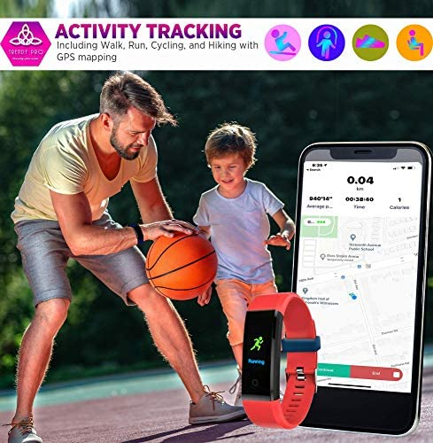 Kids Fitness Tracker for Kids Activity Tracker - Smart Watch for Android Phones iOS Digital Watch Smart Step Calorie Counter Sleep Monitor Exercise Pedometer Alarm Clock (2Bands) 5