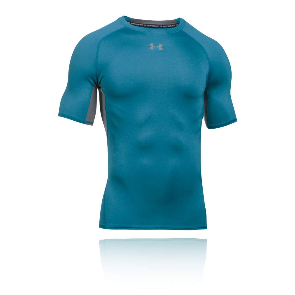 Under Armour HeatGear Short Sleeve Compression T-Shirt - X Small - Blue