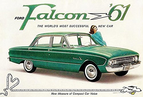 1961 Ford Falcon #2 - Promotional Advertising Poster
