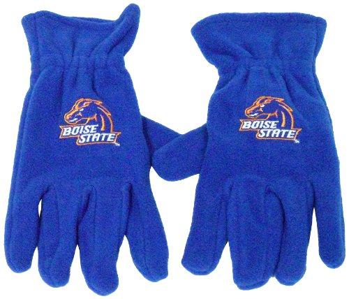 - NCAA Boise State Broncos Men's Fleece Gloves