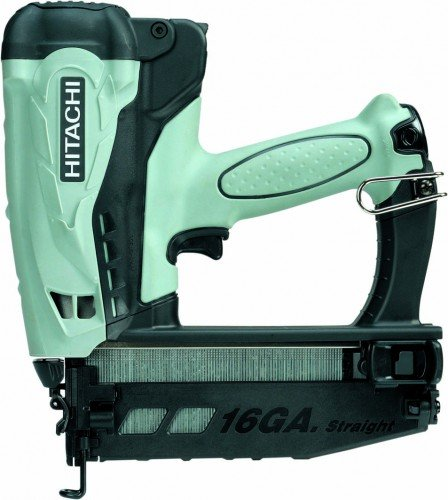 Hitachi Nt65gs Cordless Gas Finish Nailer For Straight Nails Amazon