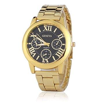 HTRHHG Ladies Watch Relojes Mujer Reloj de Cuarzo Geneva Rose Gold Reloj Mujer Relojes, 2: Amazon.es: Deportes y aire libre