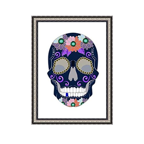Diy Fairy Costumes For Adults (Yumian Skull DIY 5D Diamond Embroidery Painting Cross Stitch Art Craft Home Decor Kit (X762))