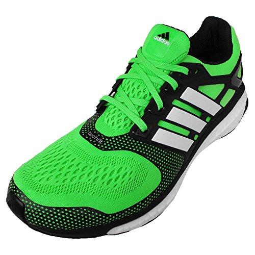 adidas Uomo Scarpe, Energy Boost ESM, (Verde/Nero), 9-