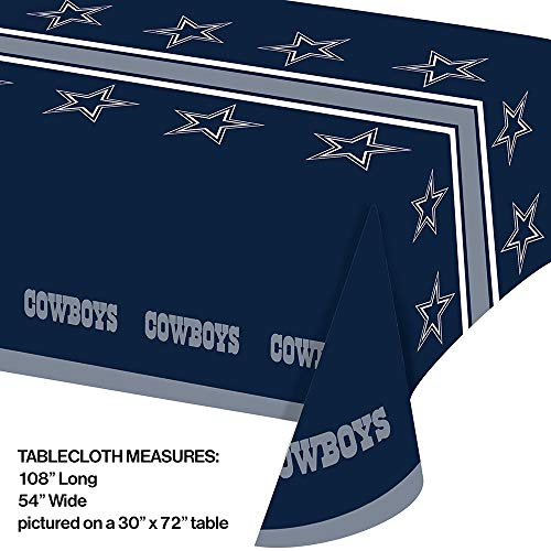 f56d5b95ba7 Creative Converting Dallas Cowboys Ultimate Fan Party Supplies Kit, Serves 8