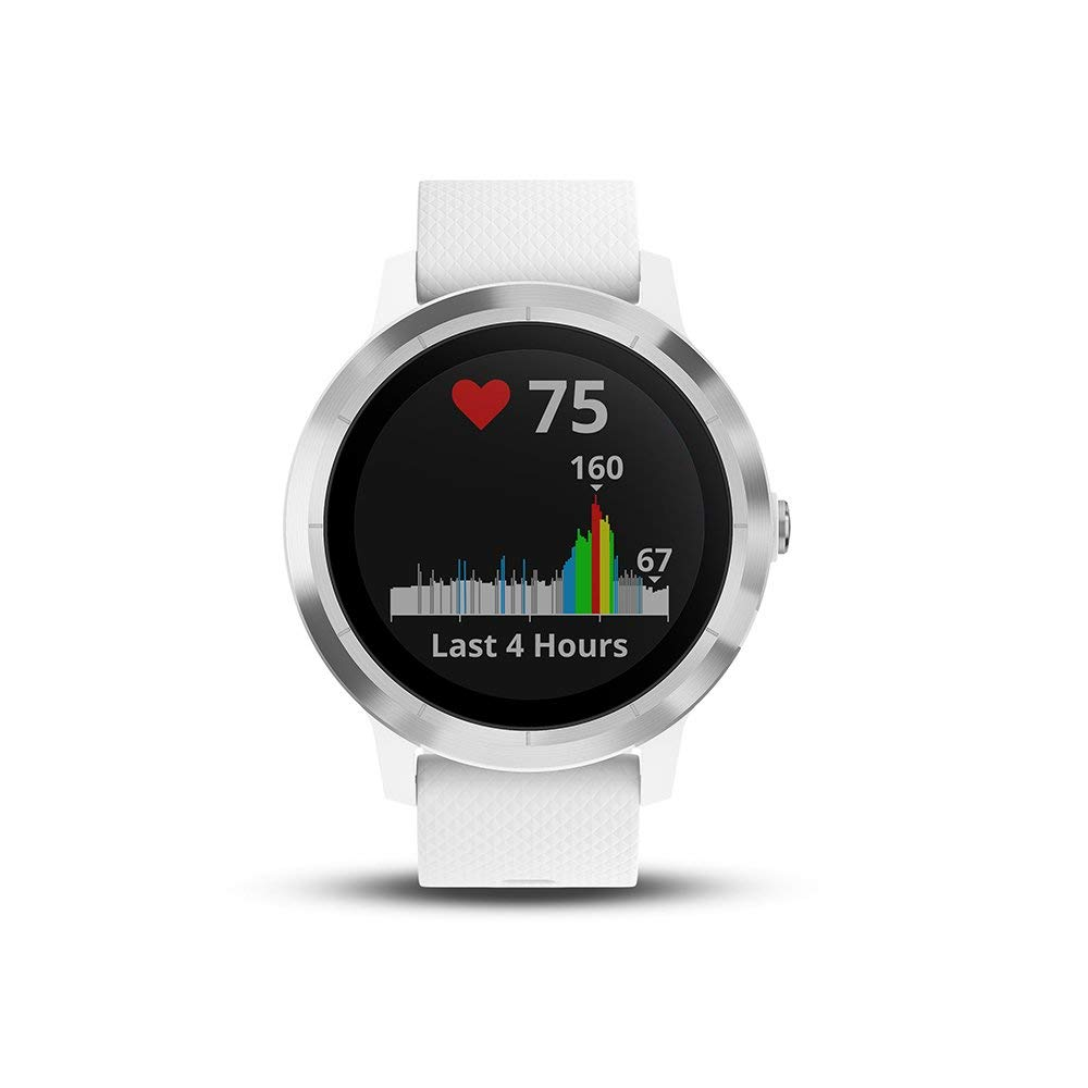 GARMIN - Smartwatch GARMIN Vivoactive 3 1,2' GPS Waterproof 5 ATM Glonass White Stainless steel (Renewed) by Garmin (Image #2)