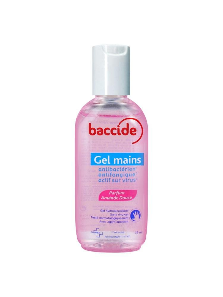 Gel Mains Parfum Amande Douce 75ml Baccide Amazon De Drogerie