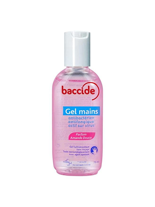 Buy Baccide Hand Gel Without Rincage Sweet Almond 75ml Online At