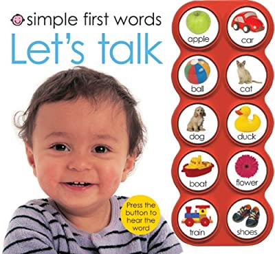 Simple First Words Lets Talk by Priddy Books