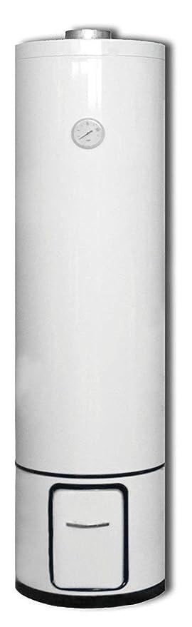 Badeofen Warmwasserboiler Holzboiler mit 80 Liter Druckfest 7 BAR ...