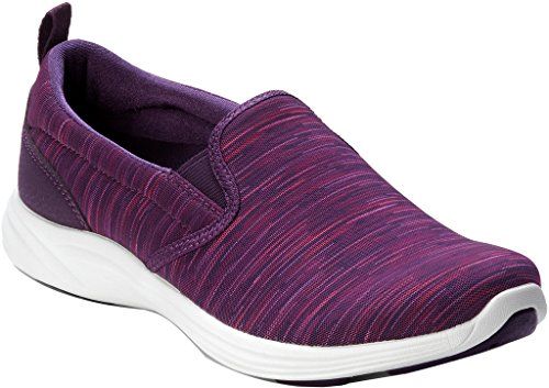 Vionic Womens Agile Kea Slip On Sneaker Purple Multi Size 9