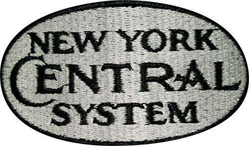 New York Central White Logo Short Sleeve Embroidered Denim den28SS