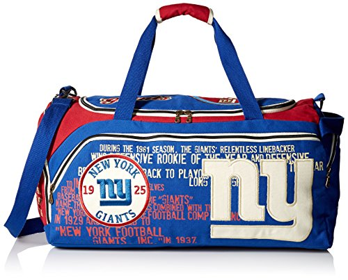 NFL New York Giants Duffle, Blue by Forever Collectibles