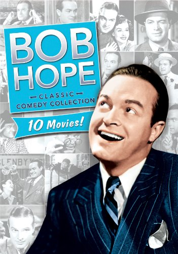 4 Porterhouse Steaks - Bob Hope Classic Comedy Collection- Give Me a Sailor / Thanks for the Memory / Never Say Die / The Cat and the Canary / The Ghost Breakers / Caught in the Draft / Nothing But the Truth / My Favorite Blonde / The Paleface /Sorrowful Jones