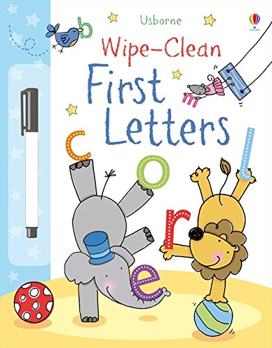 First Letters (Wipe-clean Books)