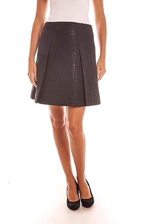 ARMANI JEANS AJ - Falda Mujer B5G10PQ-Cam Falda Muestra Negra 40 ...