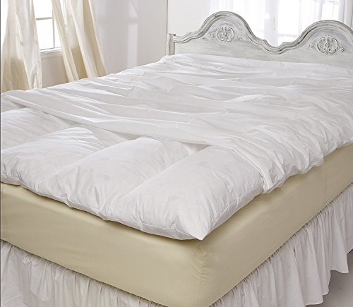 Pillowtex Featherbed Cover 100% Cotton (Queen) ()