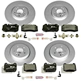 Power Stop ESK4463 Front and Rear Euro-Stop Brake Kit