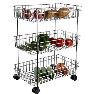3 Layer Kitchen Trolley