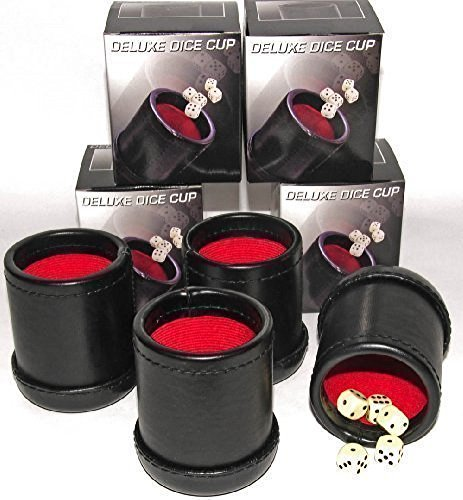 (Bundle of 4 Professional Dice Cups)