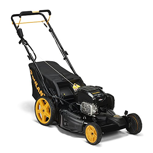 Poulan Pro 163cc 675 Exi Side Discharge/Mulch/Bag 3-in-1 Front Wheel Self Propelled Mower 22'' Deck by Poulan Pro