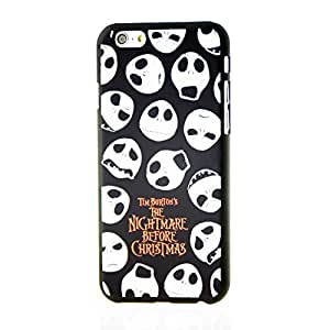 """Inask Glow in the Dark Luminous Effect Fluorescent Merry Christmas Back Cover Case for Iphone 6 ( 4.7"""") Lovely Skulls"""