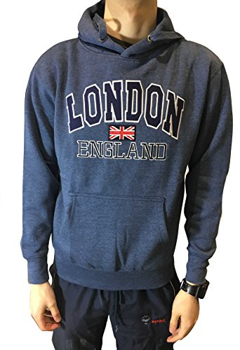 London Applique Hoody - Quality Apparel from London, England