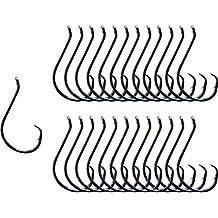 Heavyweight Catfish Hooks - Offset Octopus Circle Hooks by Catfish Sumo - 25 Pack