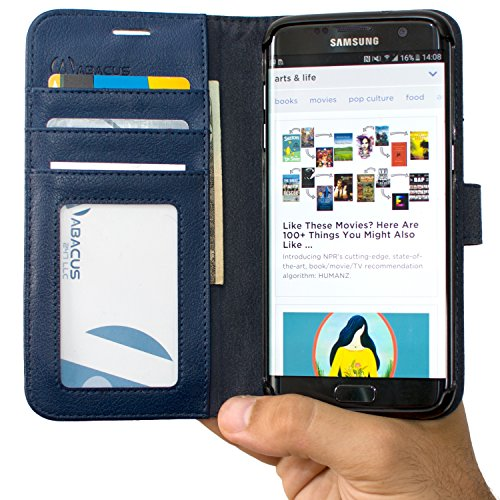 Abacus24 7 Synthetic Leather Wallet Samsung