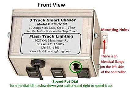 Flash track lightings 3 track smart chaser amazon aloadofball Choice Image